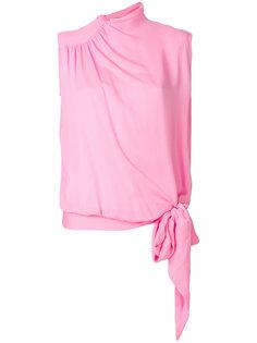 блузка с завязками Maison Margiela