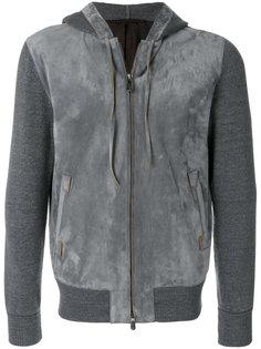куртка на молнии с капюшоном Ermenegildo Zegna Couture
