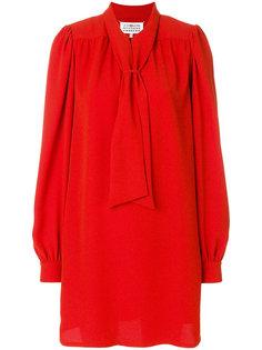 платье-рубашка с бантом Maison Margiela