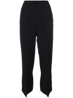 строгие брюки с завышенной талией  Mm6 Maison Margiela
