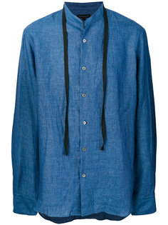 рубашка с воротником-стойкой Ann Demeulemeester Grise