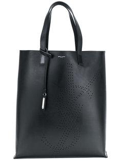 сумка-тоут с логотипом  Saint Laurent