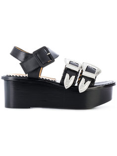 buckled platform sandals Toga Pulla