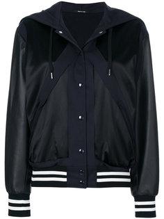 куртка с капюшоном и полосками  Maison Margiela