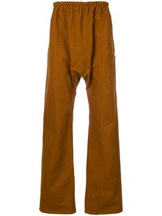 """брюки в стиле """"casual"""" с заниженным шаговым швом  Raf Simons"""