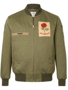 куртка-бомбер с заплаткой с логотипом Kent & Curwen