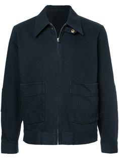 приталенная куртка на молнии Kent & Curwen