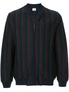 куртка-бомбер в полоску Kent & Curwen