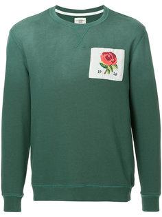 свитер с заплаткой с логотипом Kent & Curwen