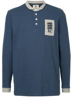 рубашка-поло с длинными рукавами с логотипом Kent & Curwen