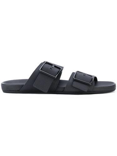 сандалии с ремешками с пряжками Lanvin