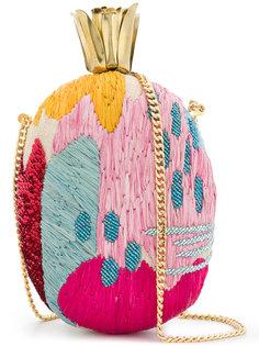 сумка в виде ананаса с вышивкой  Aranaz