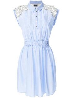 расклешенное платье-рубашка  Twin-Set
