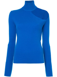 свитер-водолазка с вырезом на плече  Dion Lee