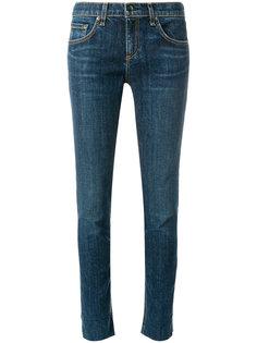 джинсы кроя слим с потертой отделкой Rag & Bone /Jean