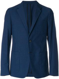 пиджак с накладными карманами Prada