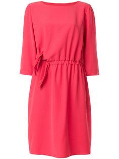 платье шифт с завязкой  Emporio Armani