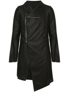 off-centre zip jacket A New Cross