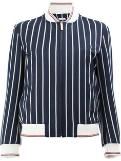 полосатая куртка-бомбер Thom Browne