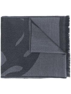 шарф с графическим принтом Alexander McQueen