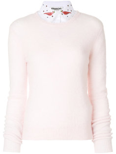 свитер с вышивкой Paraty Essentiel Antwerp