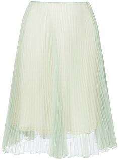 плиссированная юбка Prada