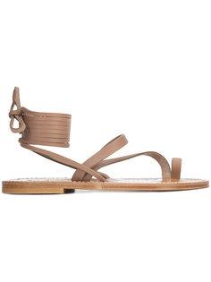 сандалии со шнуровкой K. Jacques