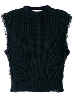 трикотажный пуловер с карманом  Philosophy Di Lorenzo Serafini