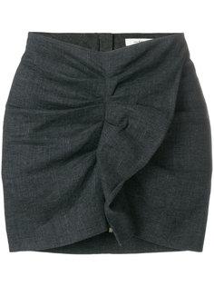 присборенная мини-юбка  Isabel Marant Étoile