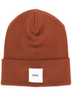 шапка с логотипом  Oamc
