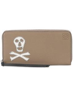 кошелек с черепом Loewe