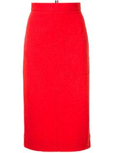 юбка-карандаш с карманами  Thom Browne