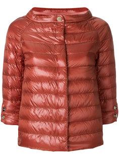 укороченная стеганая куртка Herno