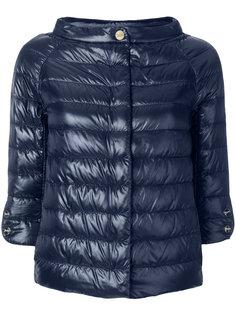 стеганая укороченная куртка Herno
