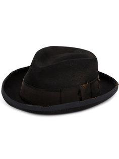 шляпа с эффектом поношенности Horisaki Design & Handel