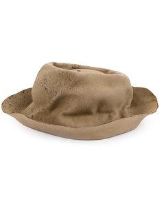 шляпа с состаренным эффектом Horisaki Design & Handel