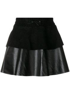 юбка мини с оборками Filles A Papa