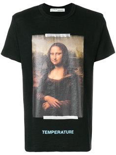футболка Mona Lisa Off-White