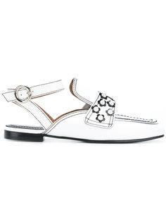 embellished loafers Nicole Saldaña