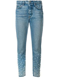 декорированные джинсы  Grlfrnd