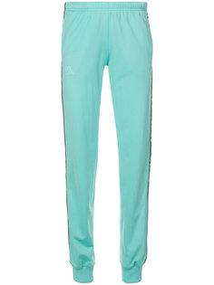 спортивные брюки с полосками и логотипом  Kappa