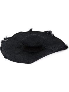 широкополая шляпа с потертыми краями Horisaki Design & Handel