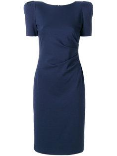приталенное короткое платье  Giorgio Armani