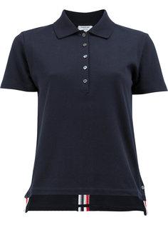 футболка-поло с воротником на пуговицах Thom Browne