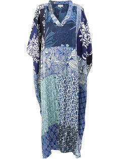 платье-кафтан с панельным дизайном Pierre-Louis Mascia