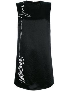платье-футболка с принтом  Versus