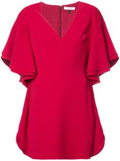 платье с широкими рукавами Halston Heritage