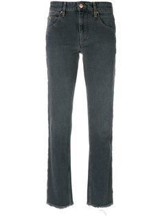 брюки узкого кроя с вышивкой Isabel Marant Étoile