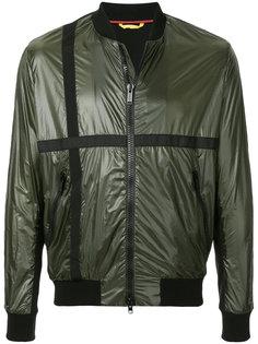 куртка-бомбер с контрастными полосками Iceberg