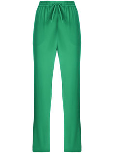 брюки прямого кроя с эластичным поясом Red Valentino